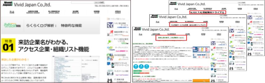 サイト形態の例