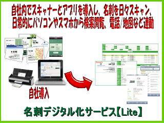 名刺デジタル化サービスLite